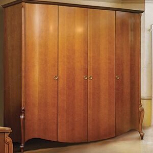 """Гардеробный дубовый шкаф из элитной коллекции """"луиза""""."""